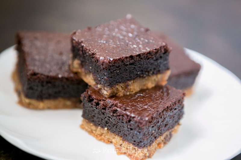 Paleo grain-free chocolate chip cookie brownies by Primal Palate and Cappellos-7