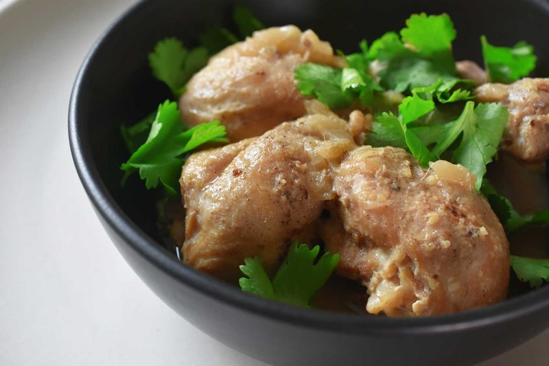 PRESSURE COOKER LEMONGRASS + COCONUT CHICKEN Recipe