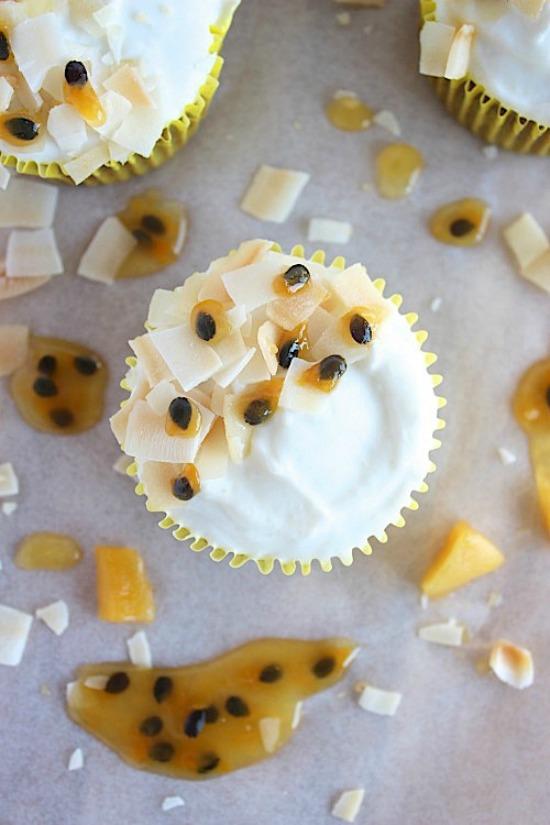 Mango & Passionfruit Muffins Recipe