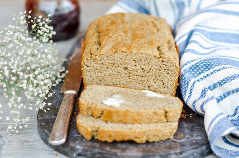 Easy Paleo Bread Loaf Recipe