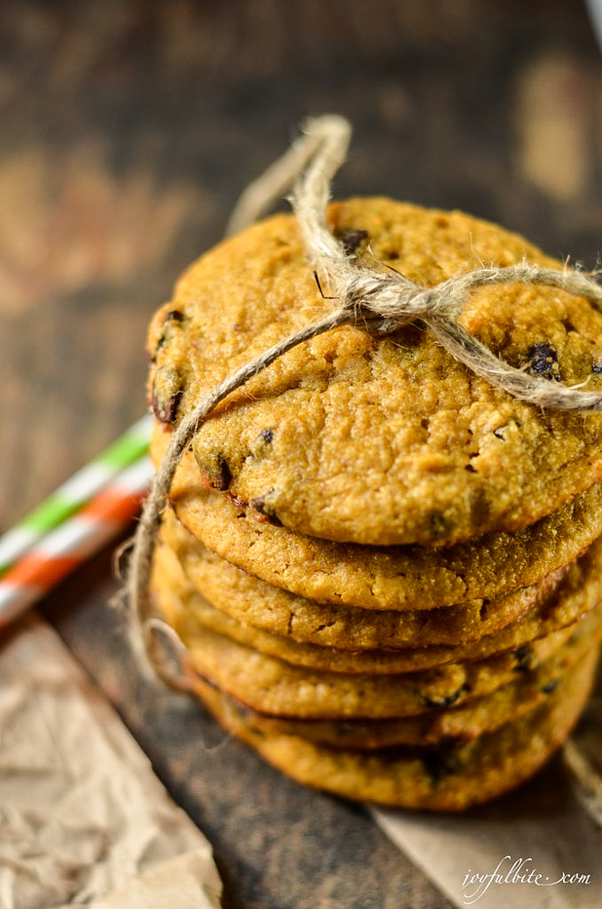 Paleo Pumpkin Chip Cookies Recipe