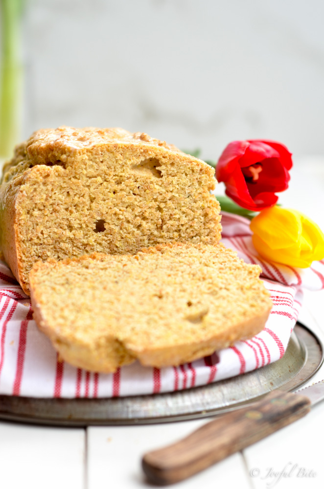 5 Minute Grain Free Sandwich Bread Recipe
