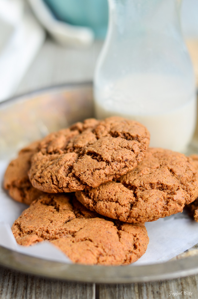 6 Ingredient Paleo Cookies Recipe