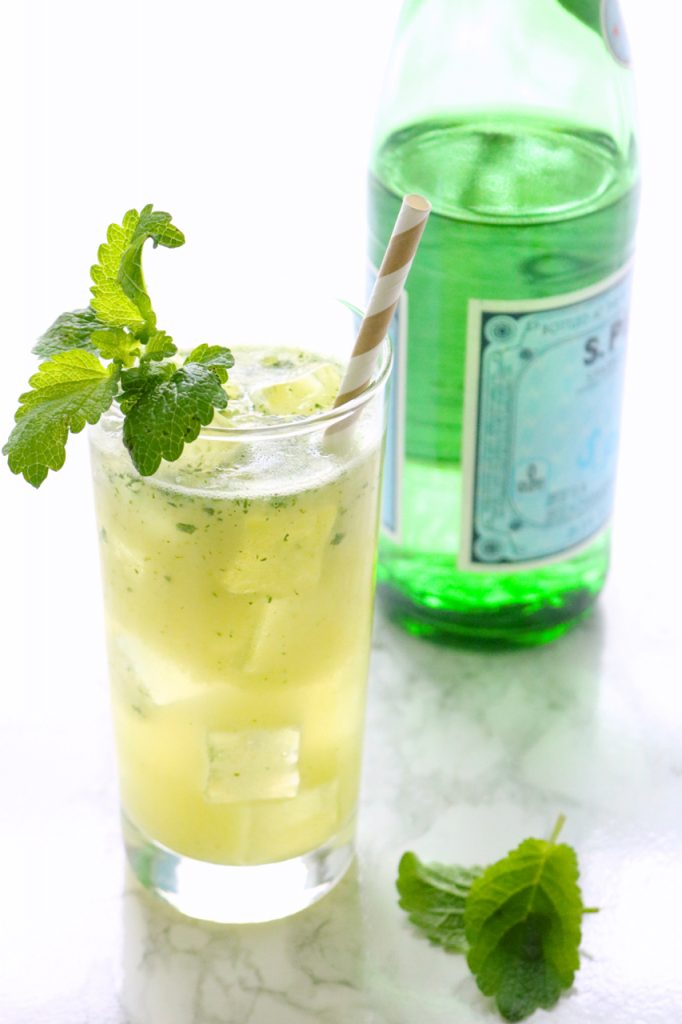 Pineapple Mint Sparklers Recipe
