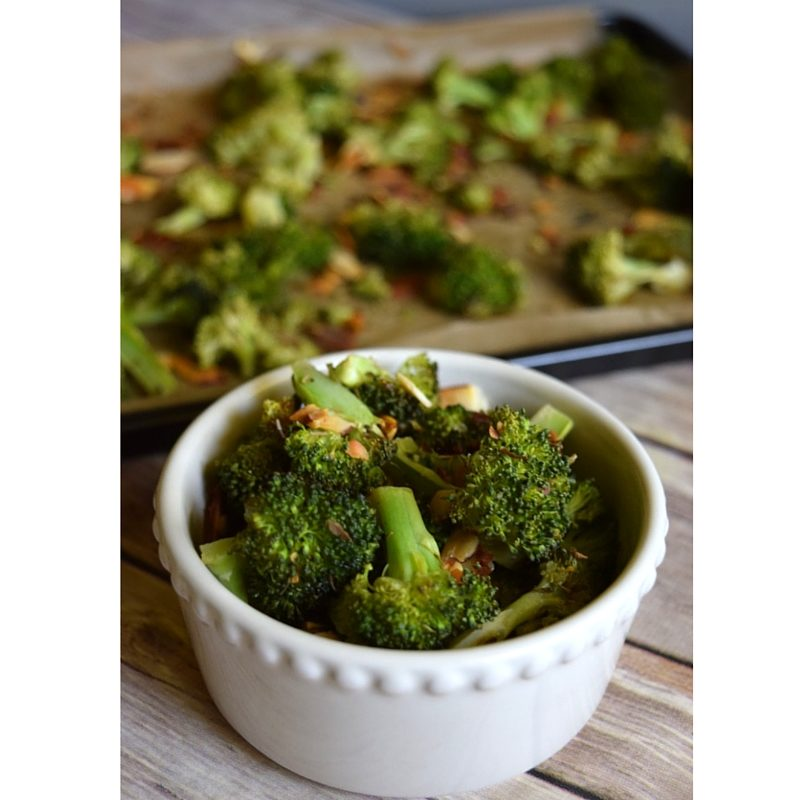 Crunchy Roasted Broccoli Recipe