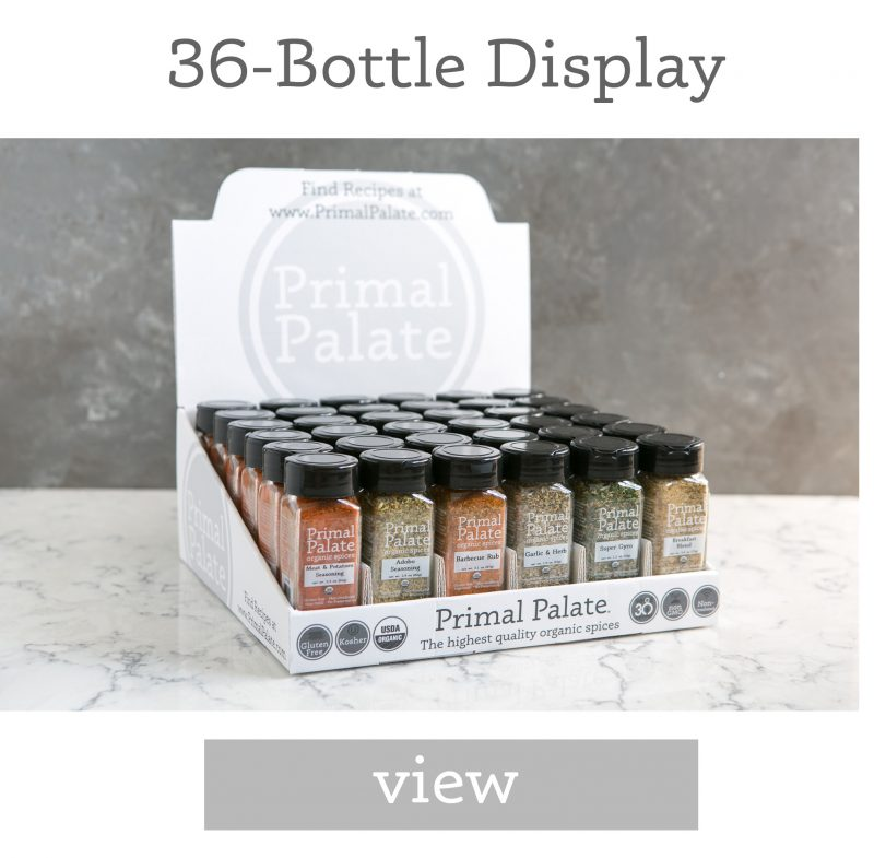 36 Bottle Display