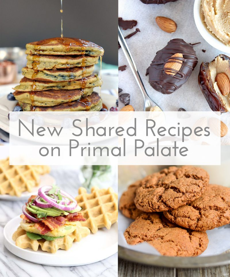 New Shared Recipes