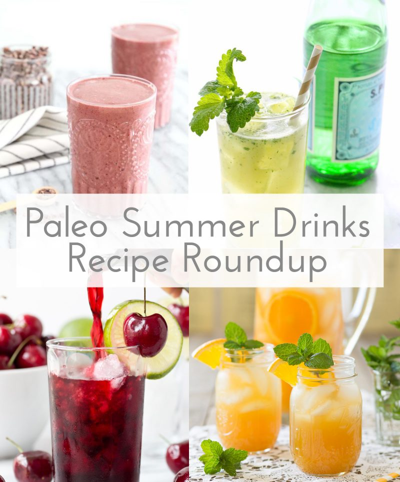 Paleo Summer Drinks