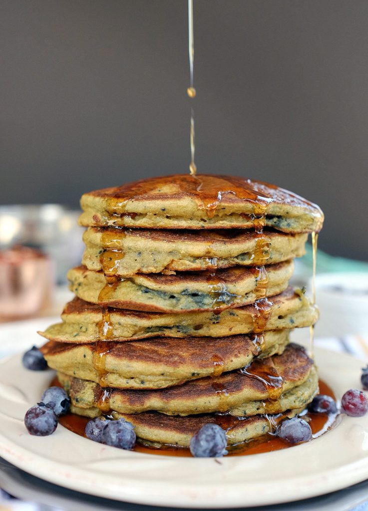 Paleo Blueberry Pancakes Recipe