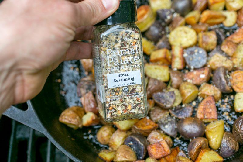 Skillet Steak Potatoes Recipe