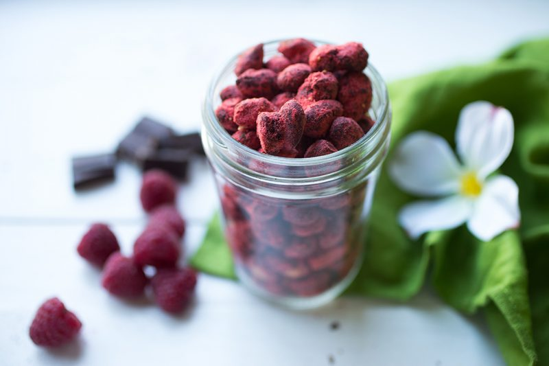 Raspberry Chocolate Covered Almonds Recipe