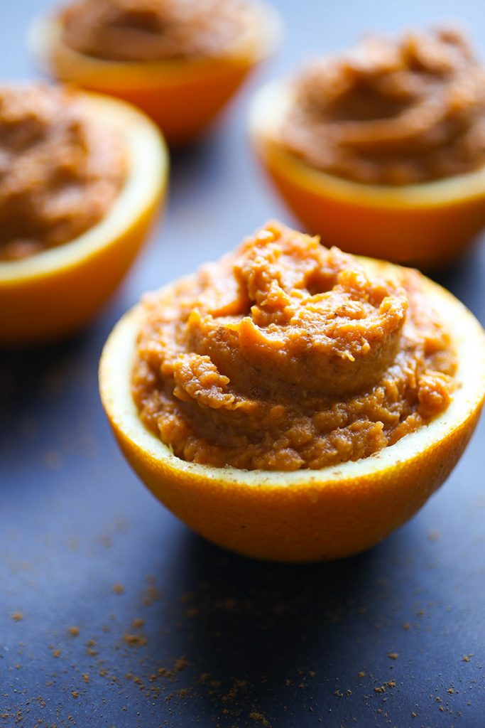Paleo Sweet Potato Orange Cups Recipe
