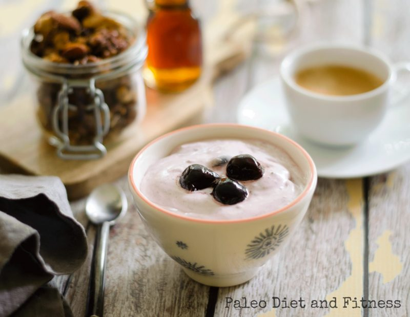 Easy Dairy-Free Cherry Yogurt Recipe
