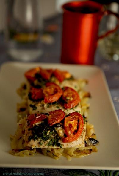 Baked Mediterranean Mahi-mahi Recipe