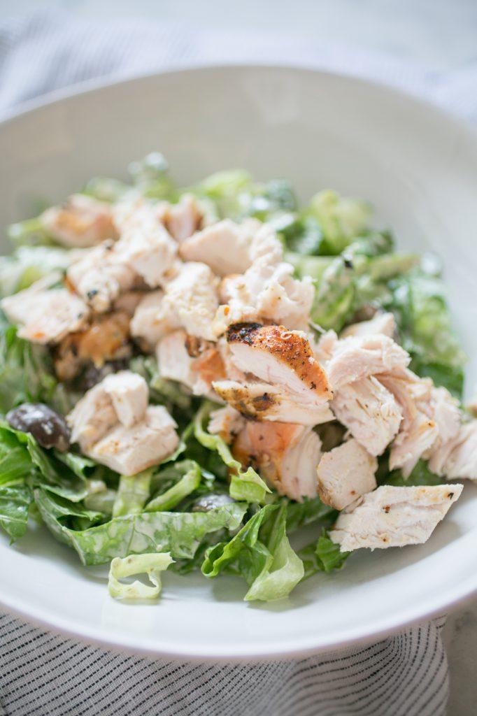 Chicken Caesar Salad Recipe - Paleo-2