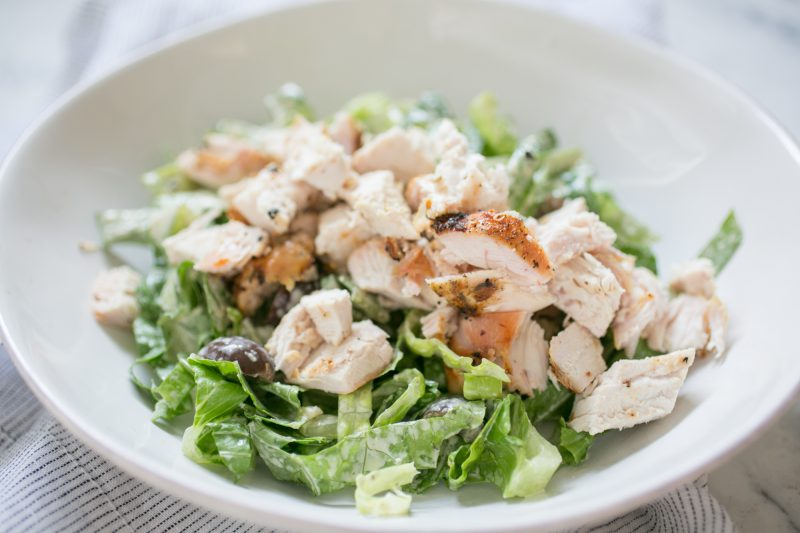 Grilled Chicken Caesar Salad Recipe