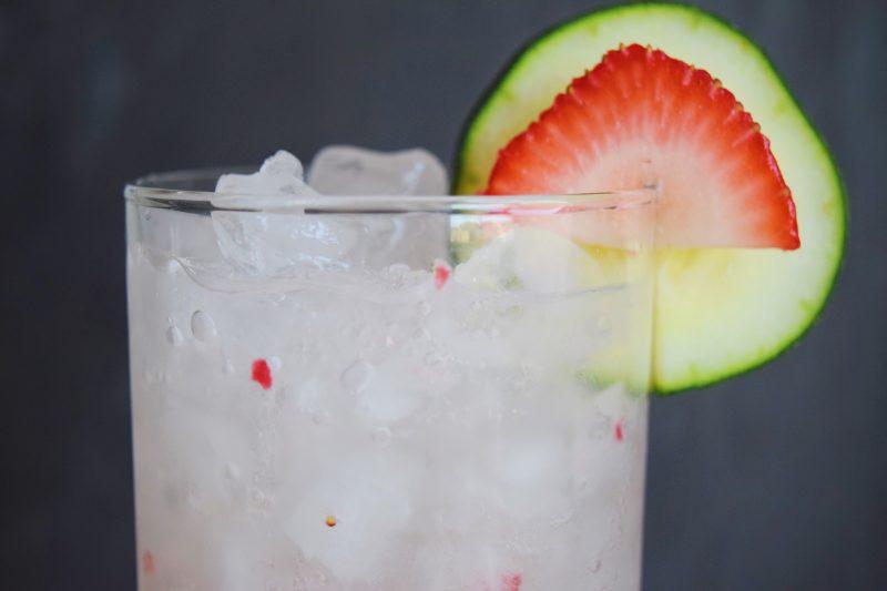 Strawberry & Sage Agua Fresca Recipe