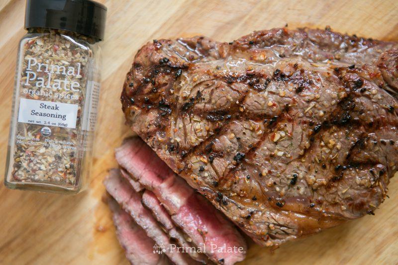 Grilled Delmonico Steak - Primal Palate Organic Steak Seasoning-5