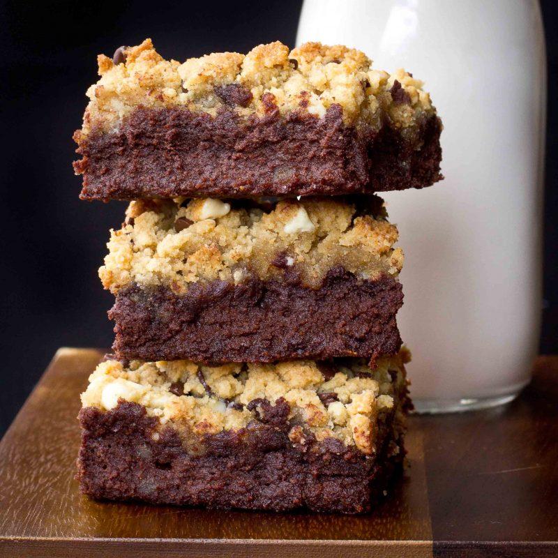 Brookies (Brownie/Cookie Bars) Recipe