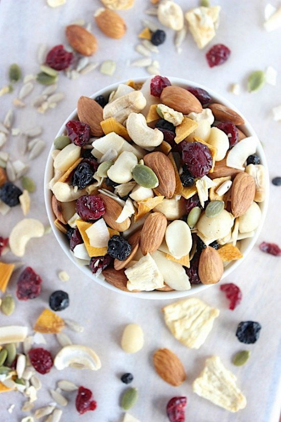 Healthy Homemade Tropical Trail Mix Recipe