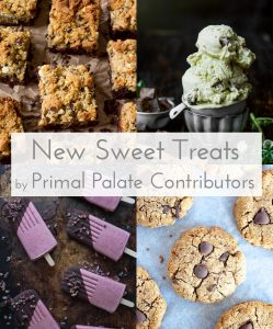 New Paleo Sweets and Treats Recipe Roundup