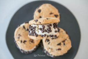 Cool off with a Chocolate Chip Cookie Ice Cream Sandwich