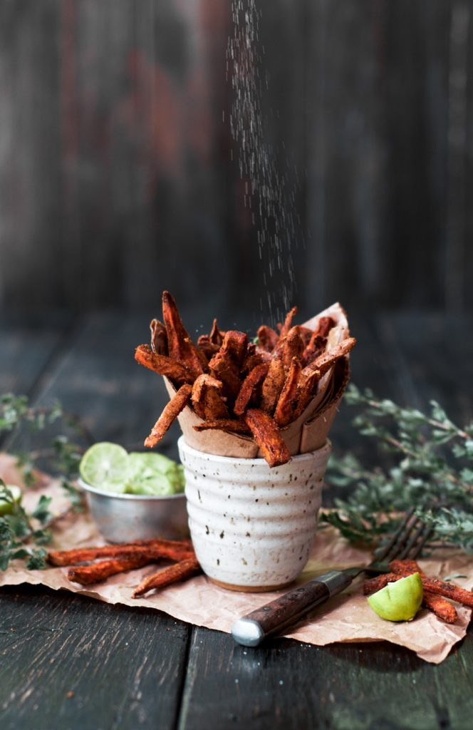 Cumin Spiced Sweet Potato fries Recipe