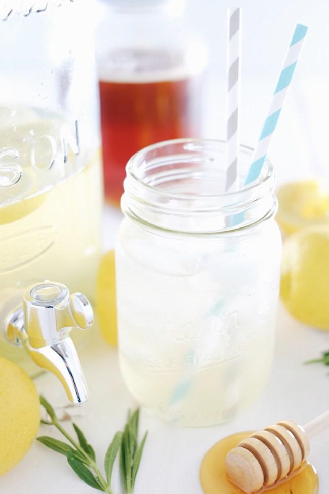Honey Lavender Lemonade Recipe