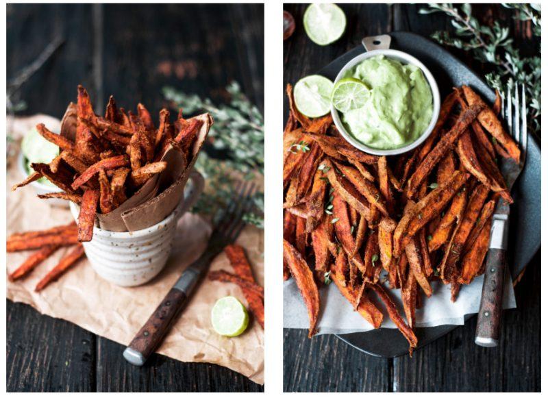 cumin spiced sweet potato fries