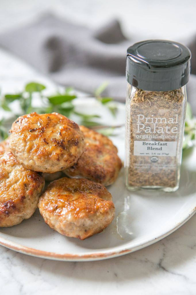 AIP turkey breakfast sausage