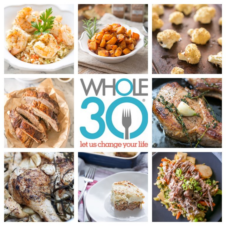 Paleo Recipe Roundup - Whole30 takeover