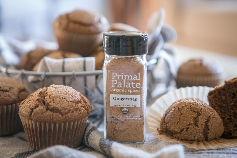 Paleo Gingerbread Muffins-6061