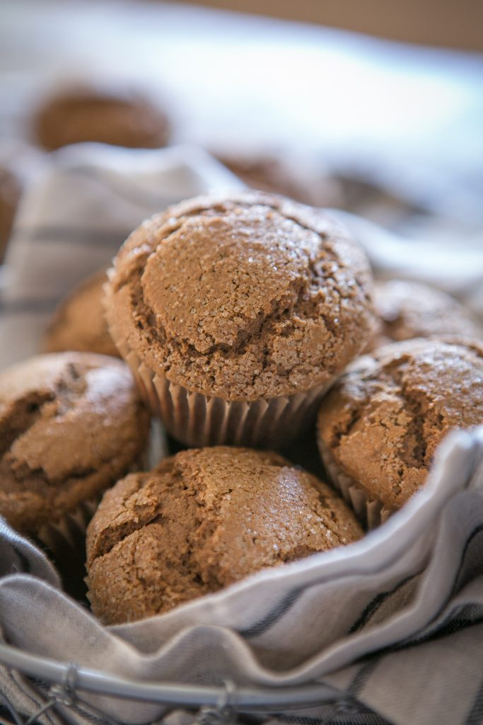 Paleo Gingerbread Muffins-6079