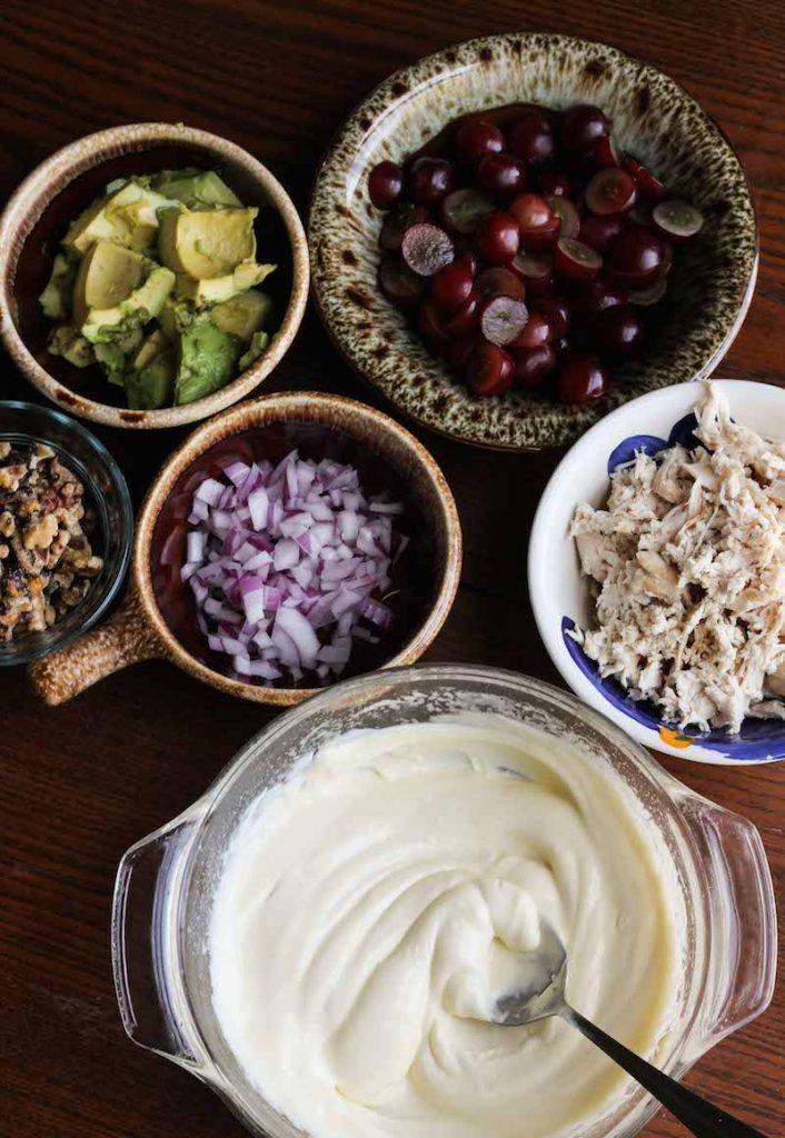 Whole30 / Paleo Chicken Salad With Walnuts! Recipe