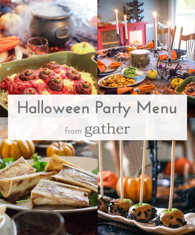 Spooky Paleo Supper - from Gather
