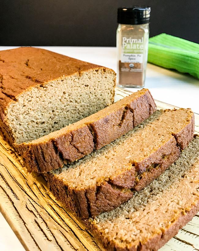 Paleo Pumpkin Bread (Nut-free) Recipe