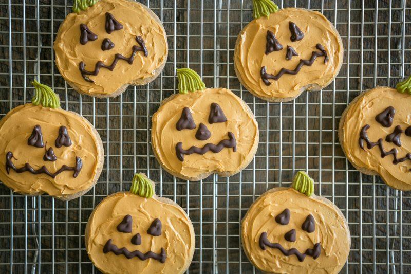Pumpkin Sugar Cookies Recipe