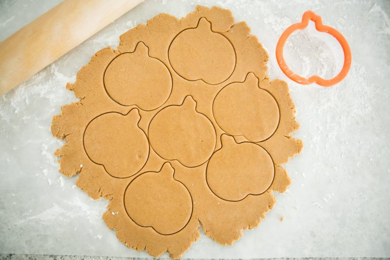 Pumpkin Sugar Cookies Recipe