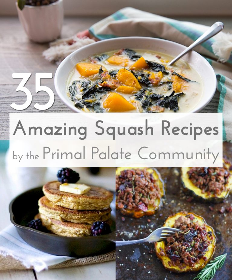 35 Amazing Squash Recipes - Paleo Recipe Roundup
