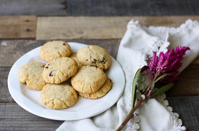 Cranberry Grapefruit Cookies Recipe