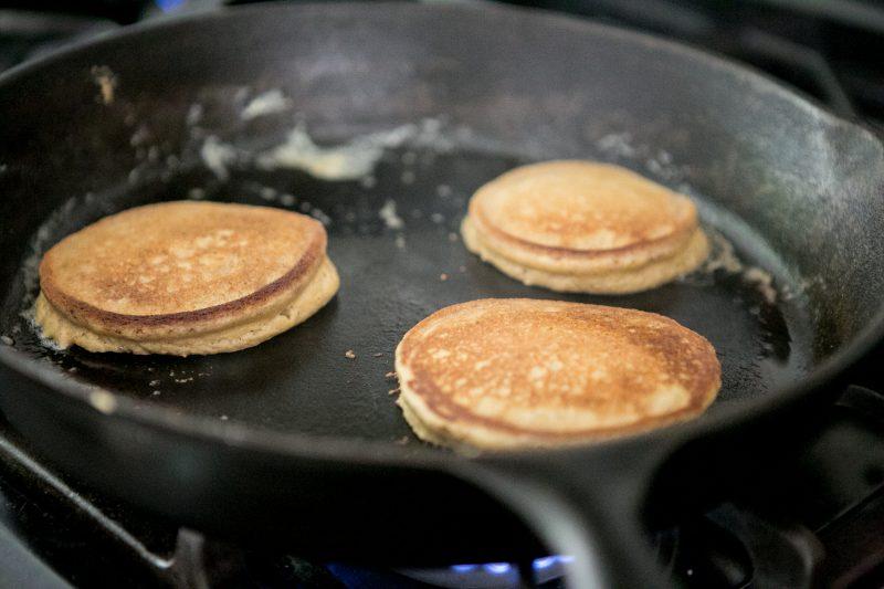 how to make almond flour pancakes - recipe photos-9