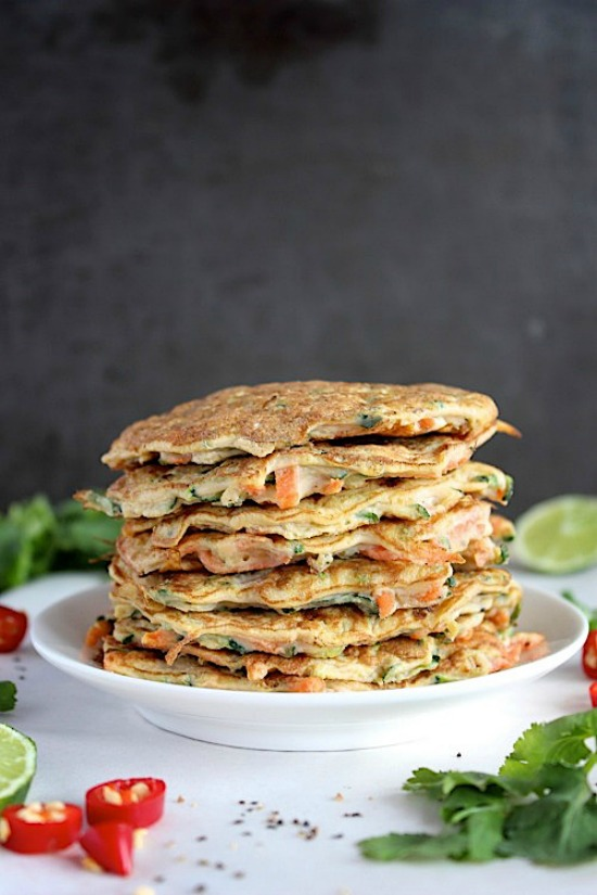 Quick and Easy Carrot and Zucchini Fritters Recipe