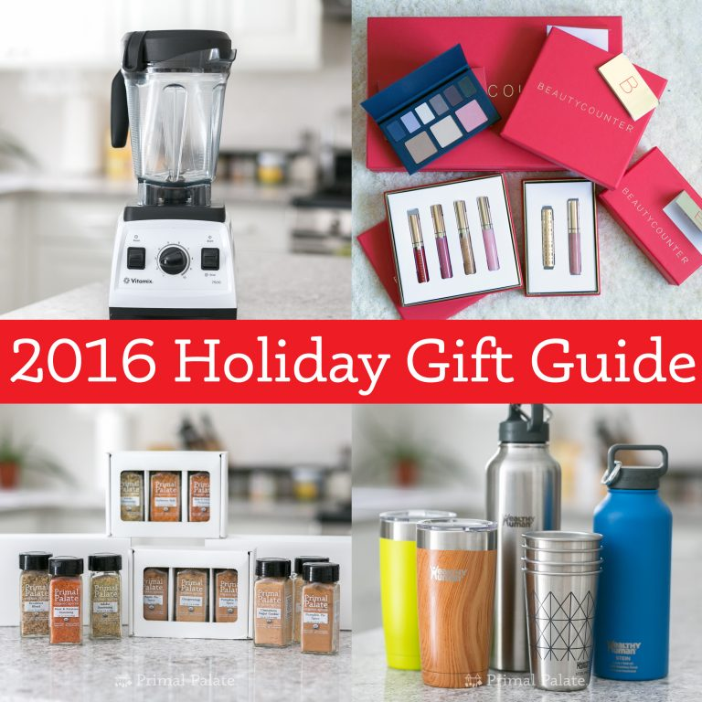 Paleo Holiday Gift Guide 2016