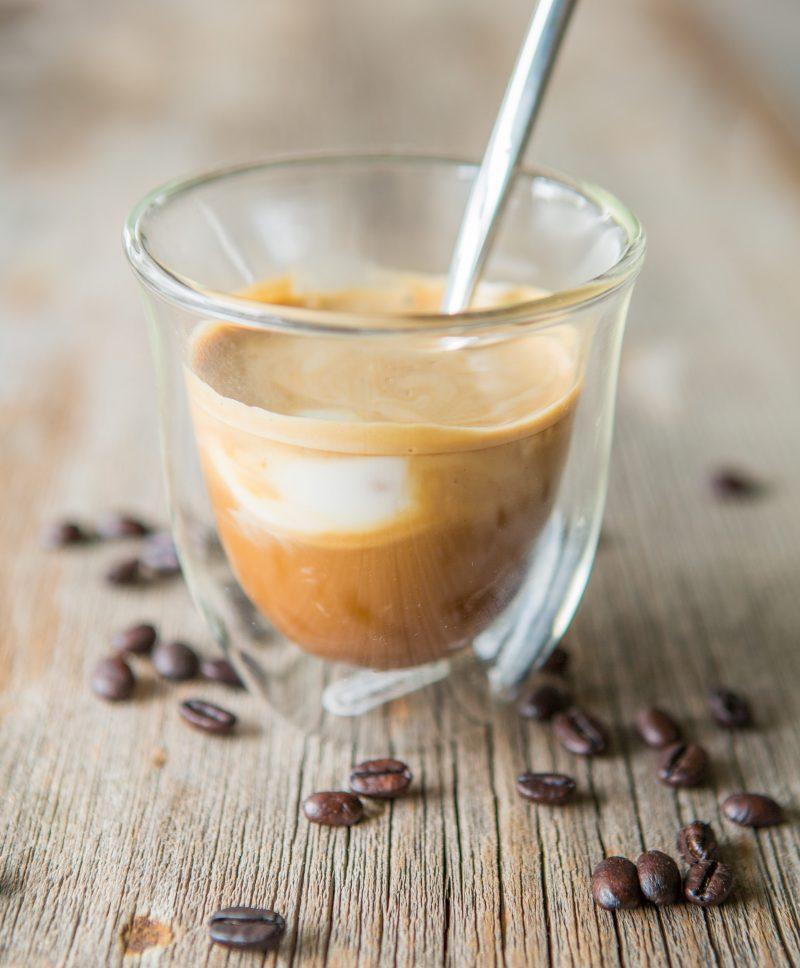 Coconut Milk Cortado Recipe