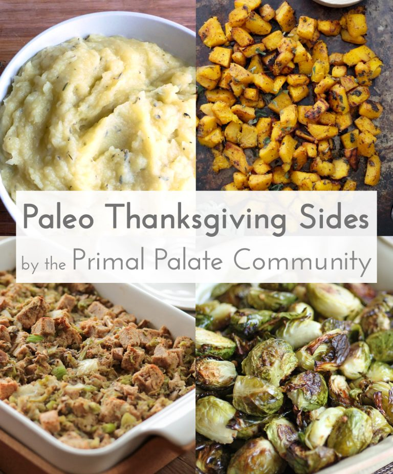 Sode Dishes: Paleo Thanksgiving Side Dishes – Recipe Roundup