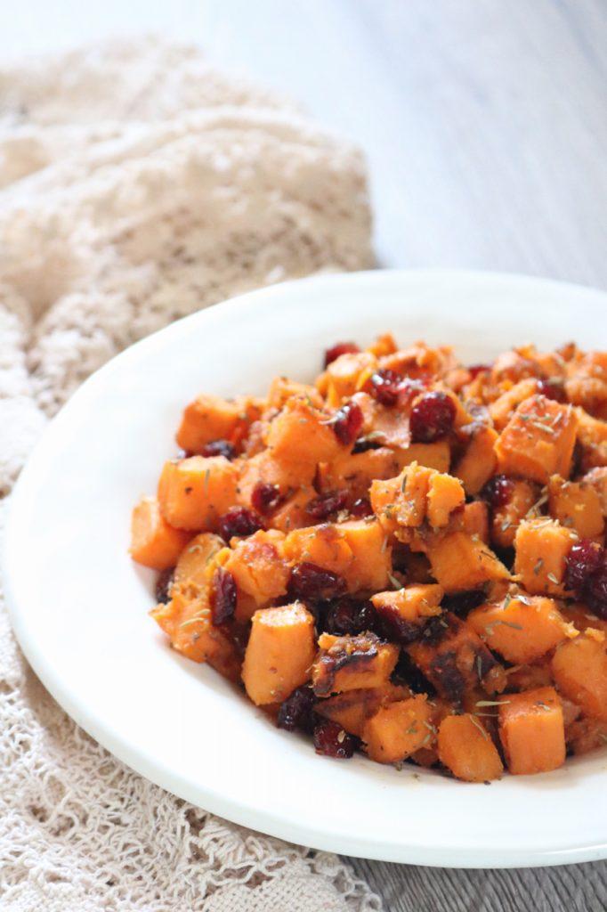 Sweet & Savory Thanksgiving Sweet Potatoes Recipe
