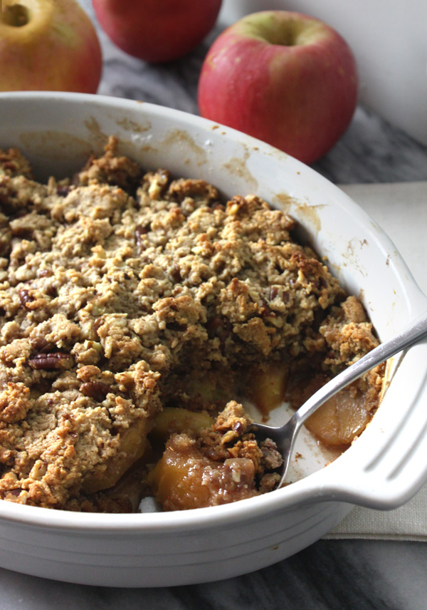 Maple Pecan Apple Crisp Recipe