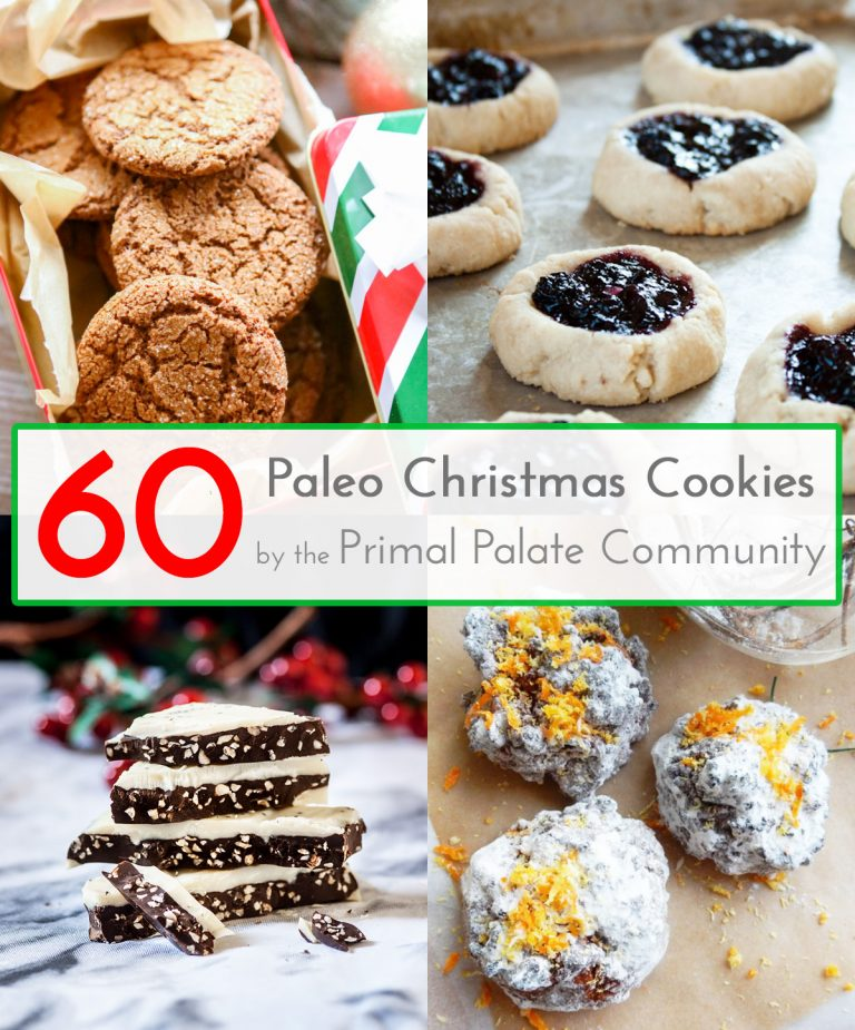 60 Paleo Christmas Cookie Recipes