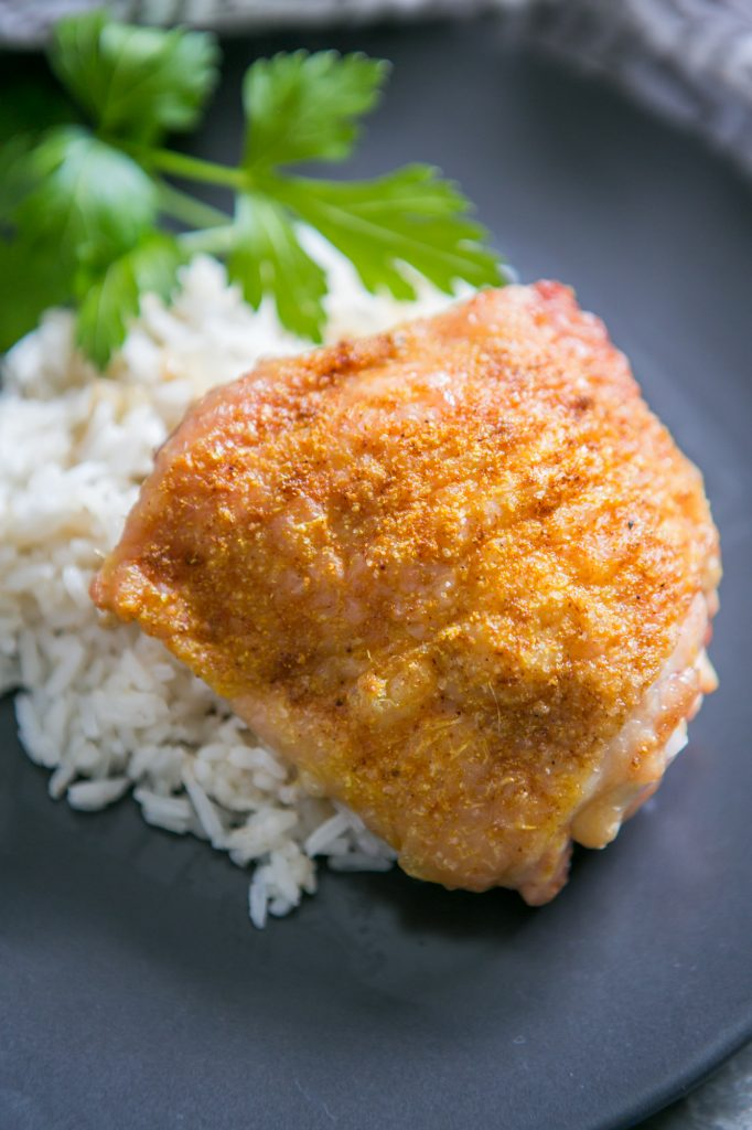 Curry Baked Chicken Thighs Recipe