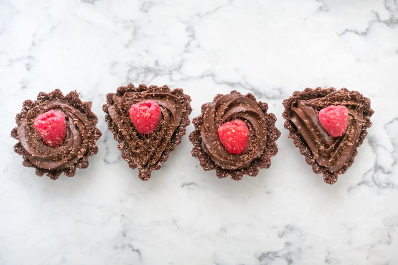 Double Chocolate Tarts Recipe